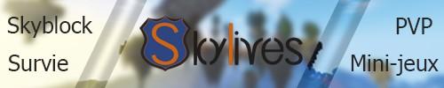 Serveur Minecraft SkyLives