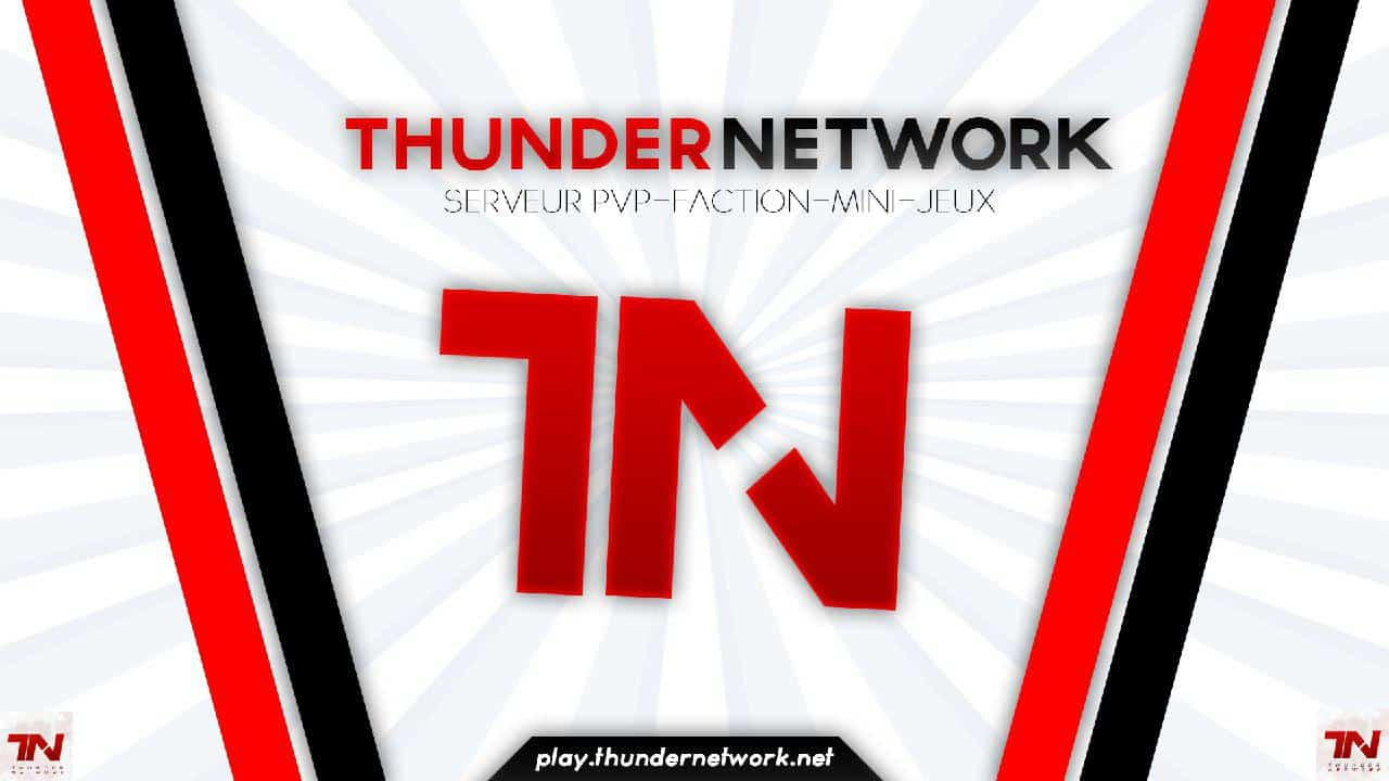Serveur Minecraft ThunderNetwork