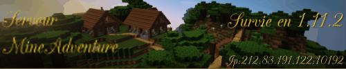 Serveur Minecraft MineAdventure