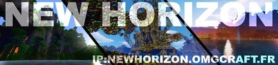 Serveur Minecraft New-Horizon