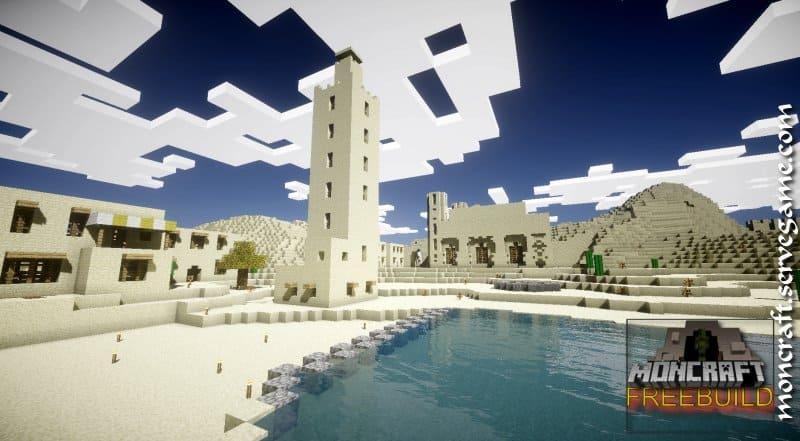 Serveur Minecraft Moncraft