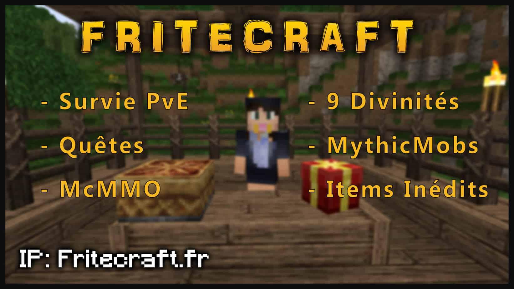 Serveur Minecraft Fritecraft