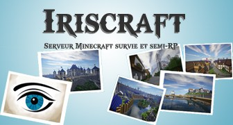 Serveur Minecraft Iriscraft
