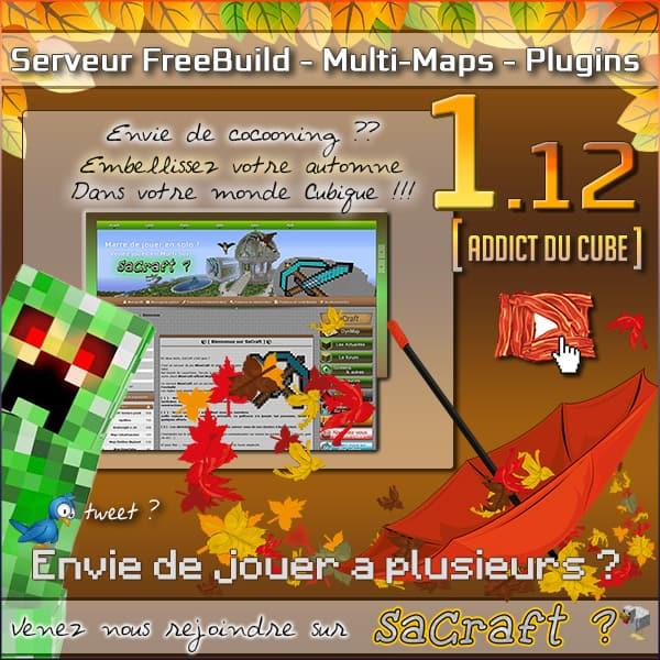 Serveur Minecraft SaCraft
