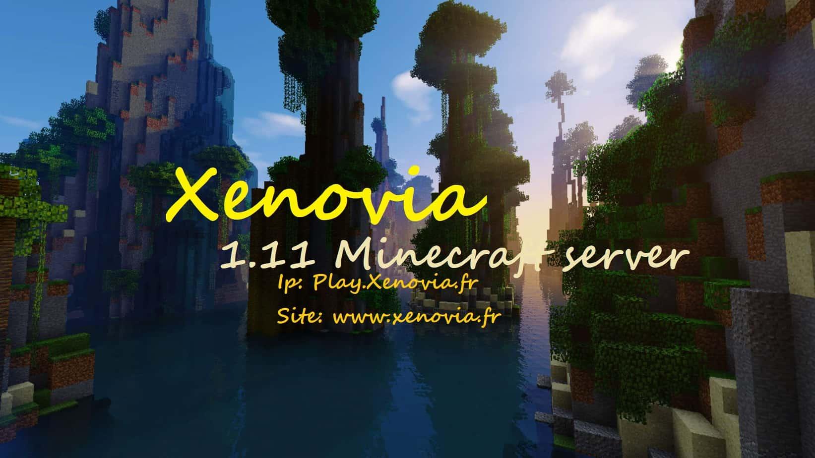Serveur Minecraft Xenovia
