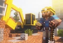 Fond D écran Minecraft Chantier Liste Serveurs Minecraft